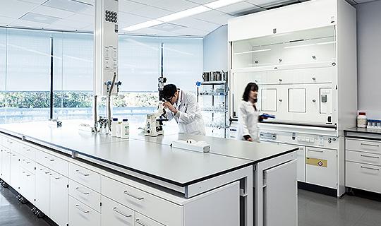 Bild: Laboreinrichtungen