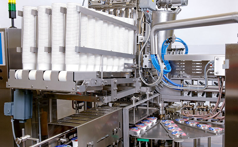 Dosomat rotary machine