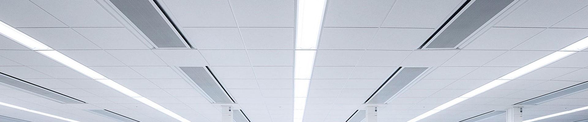Beleuchtung in einem Labor