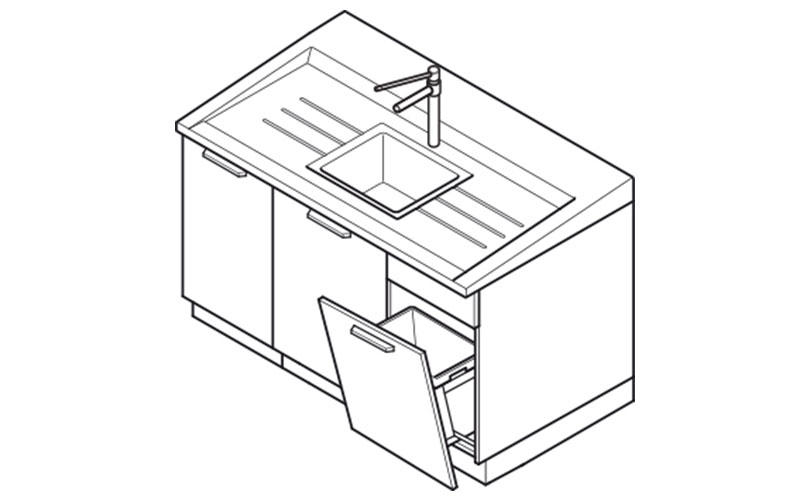 Laboratory sink module