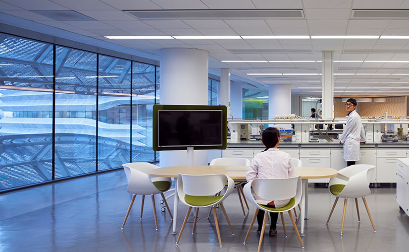 Inspiring Working Environment for Scientists