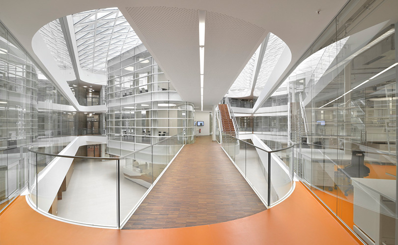 MPI in Cologne - Inside of the building