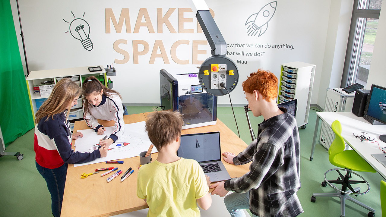 Planning and organising school projects in the Makerspace